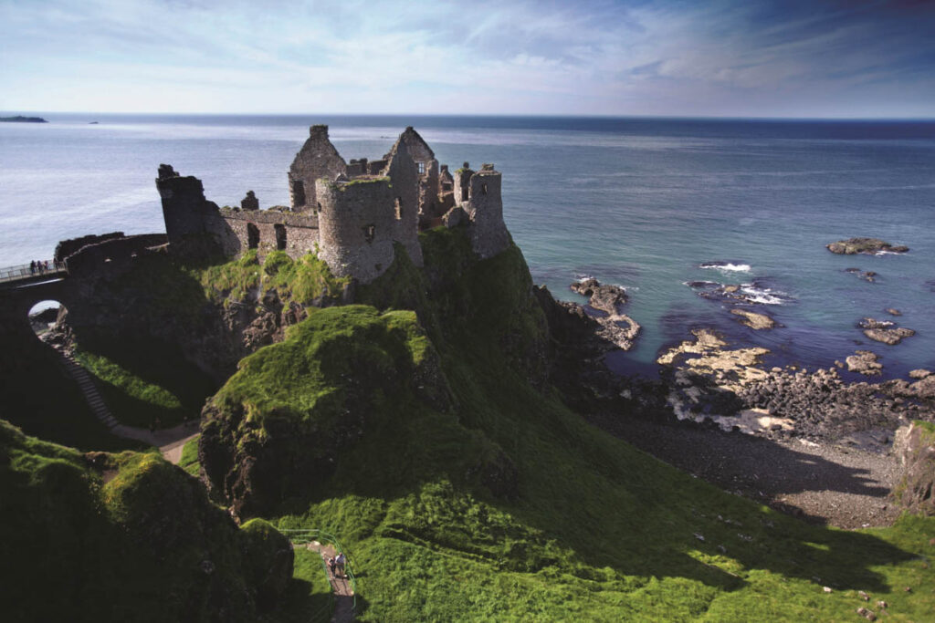 Dunluce Castle Ierland