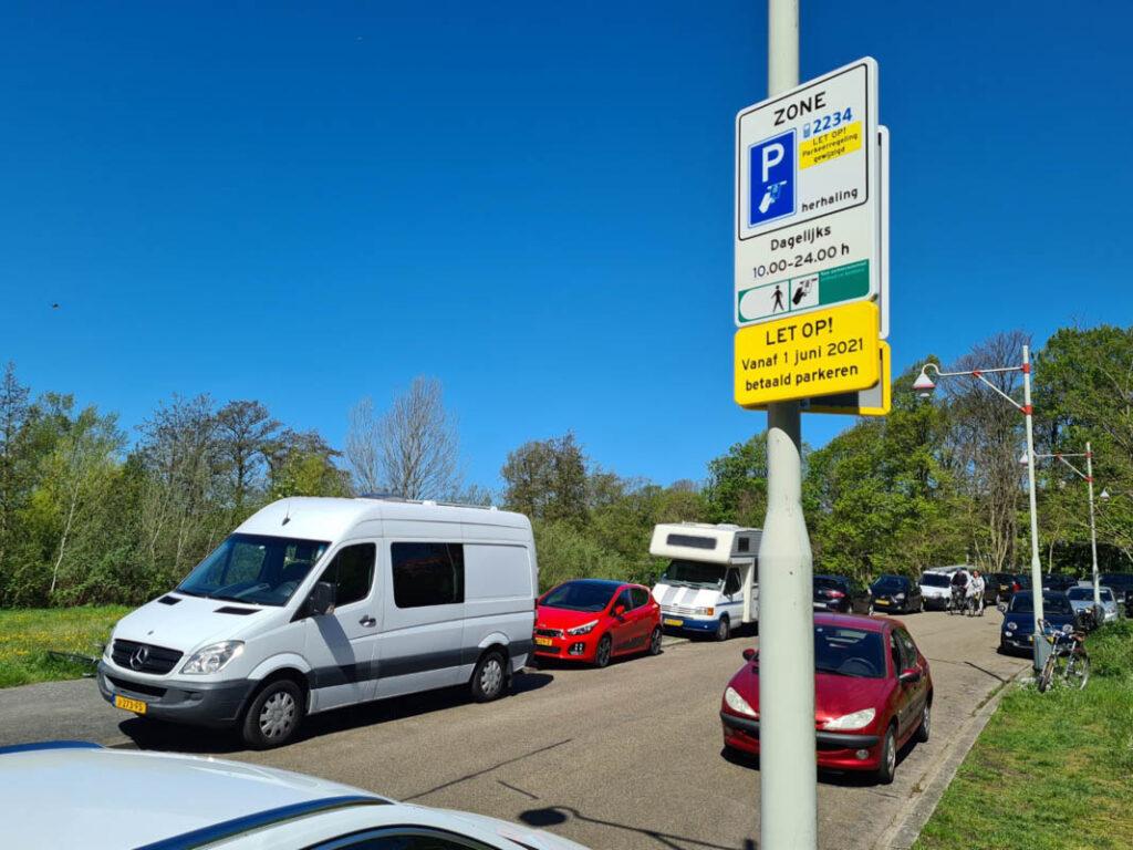 Parkeren in Scheveningen