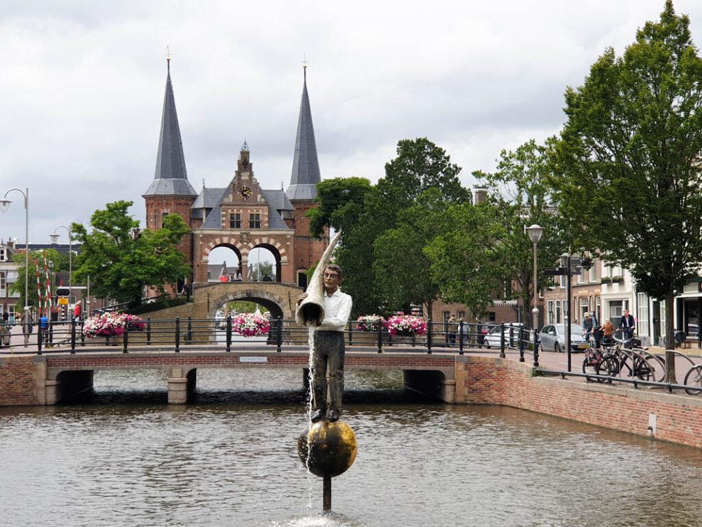 Mooie autoroute Friesland - Waterpoort Sneek
