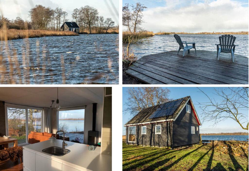 Huisje huren op eiland in Friesland