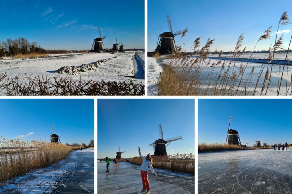 Mooie schaatsroute langs molens, Molendriegang Stompwijk