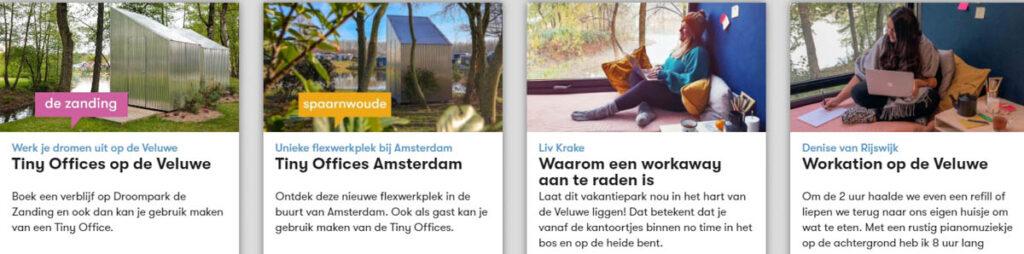Workation Nederland tips