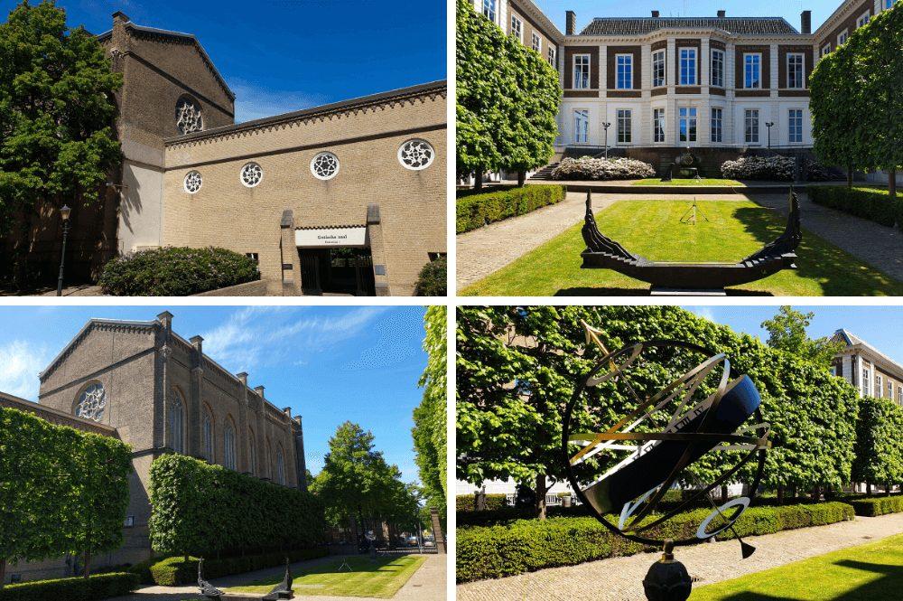 De Franse Tuin in Den Haag - Noordeinde
