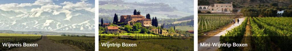 Wijnreis met Wijnproeverij box