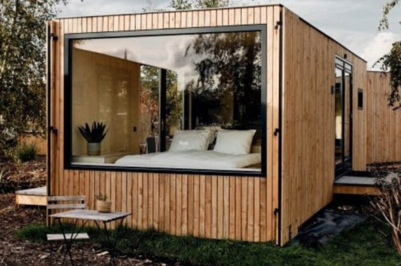 Huisje met uitzicht - Havenhuisje