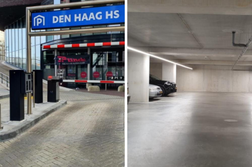 Goedkoop parkeren Den Haag Hollands Spoor
