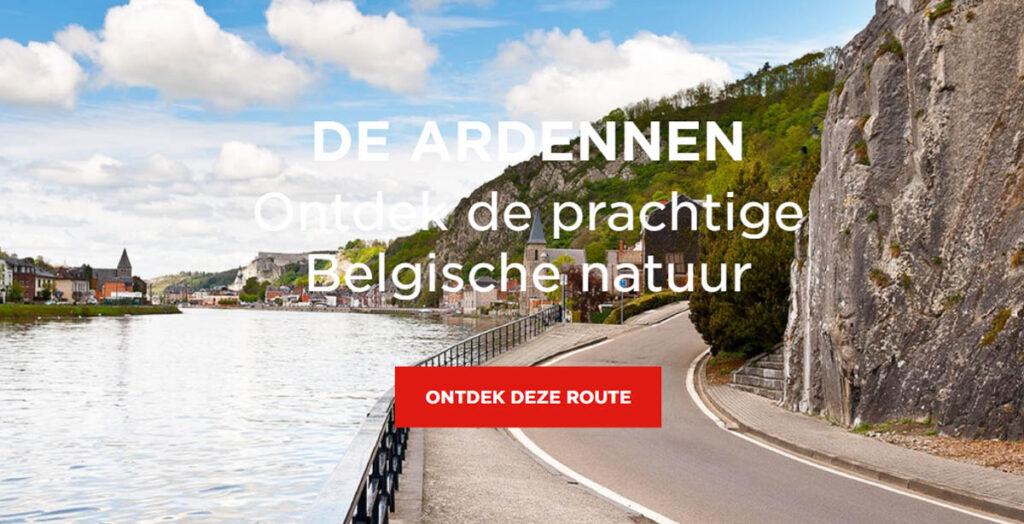 mooiste autoroutes in België- Belgische Ardennen