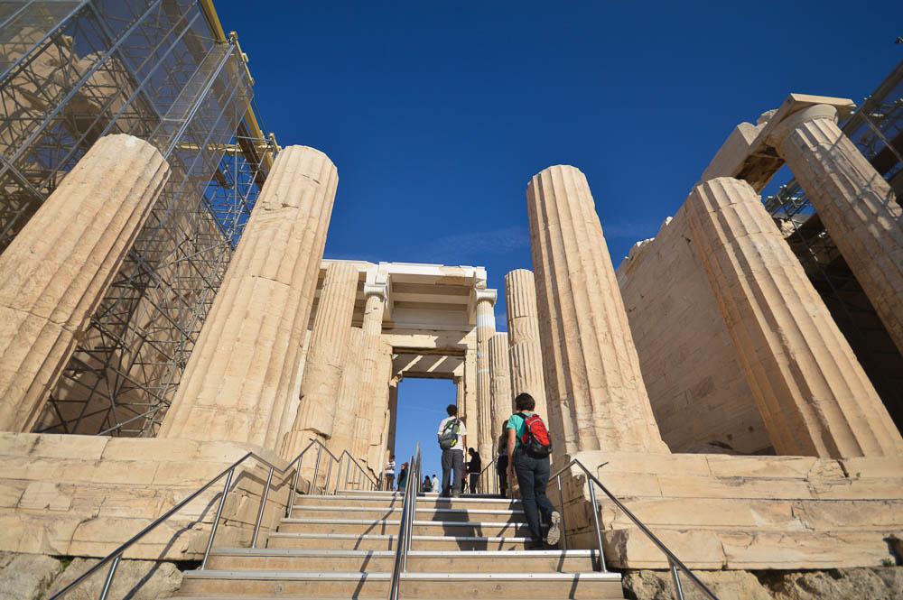 Ingang Akropolis Athene