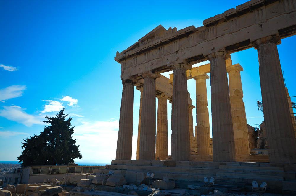 Parthenon - Akropolis