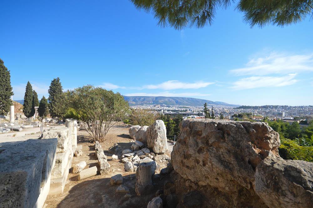 Uitzicht vanaf Akropolis