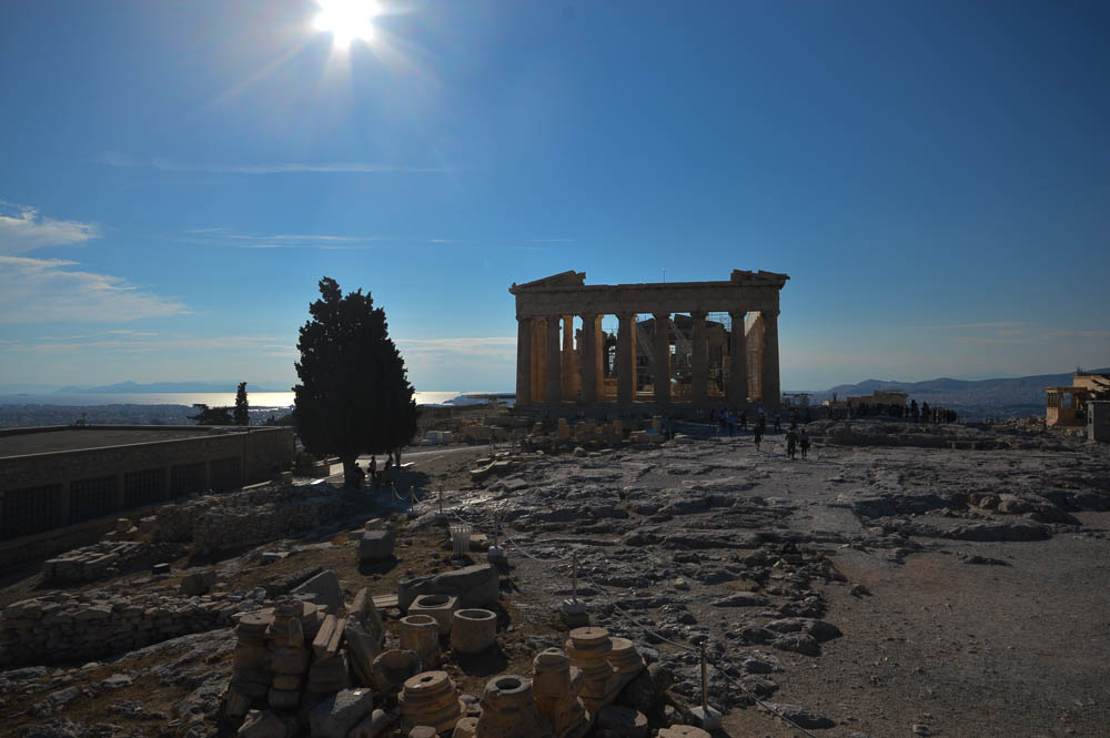 Athene- Parthenon