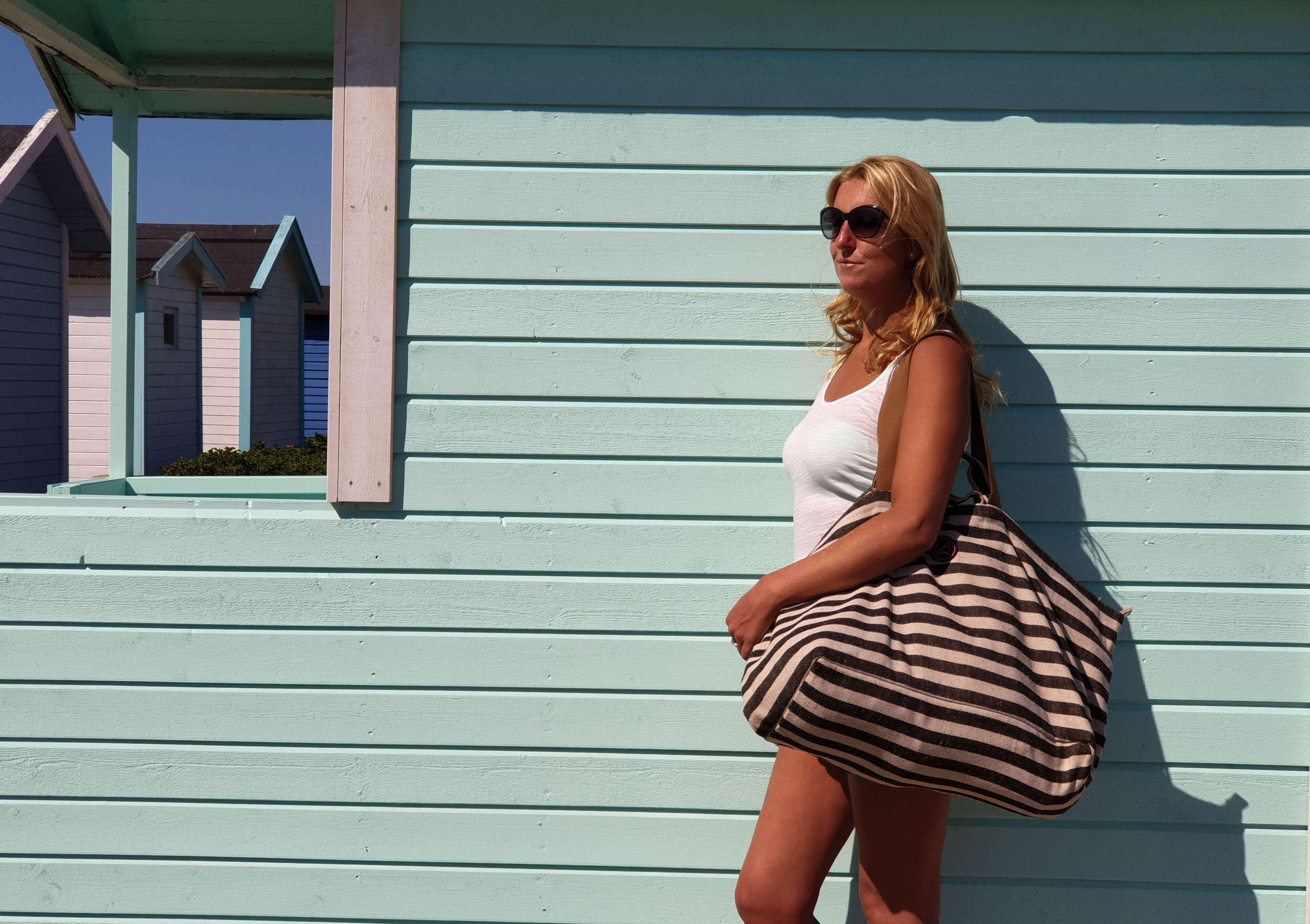 Mijn favo strand en sauna tas