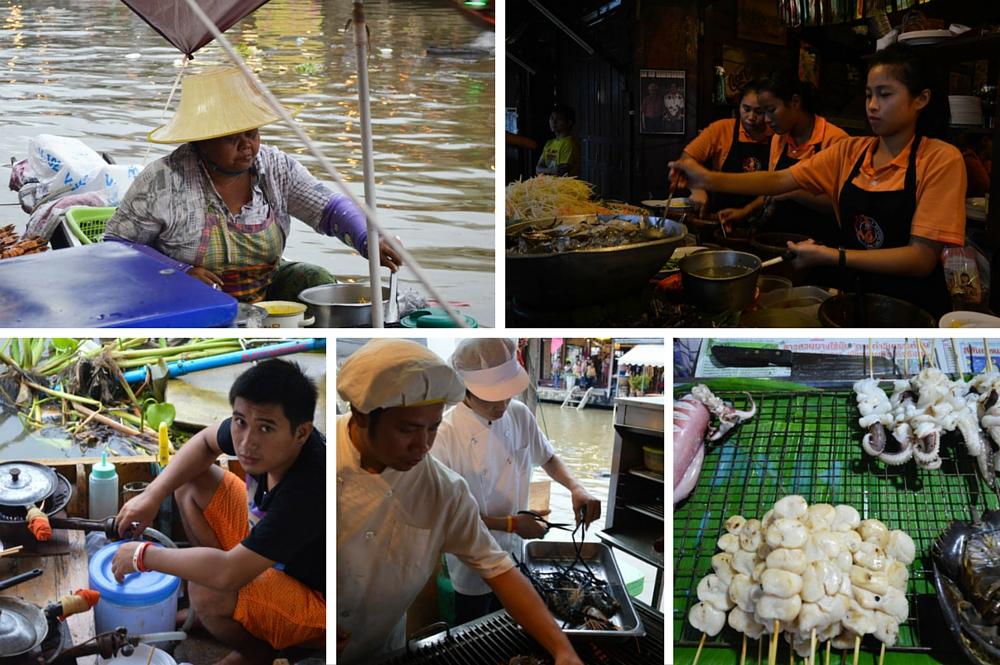Amphawa - Floating Market