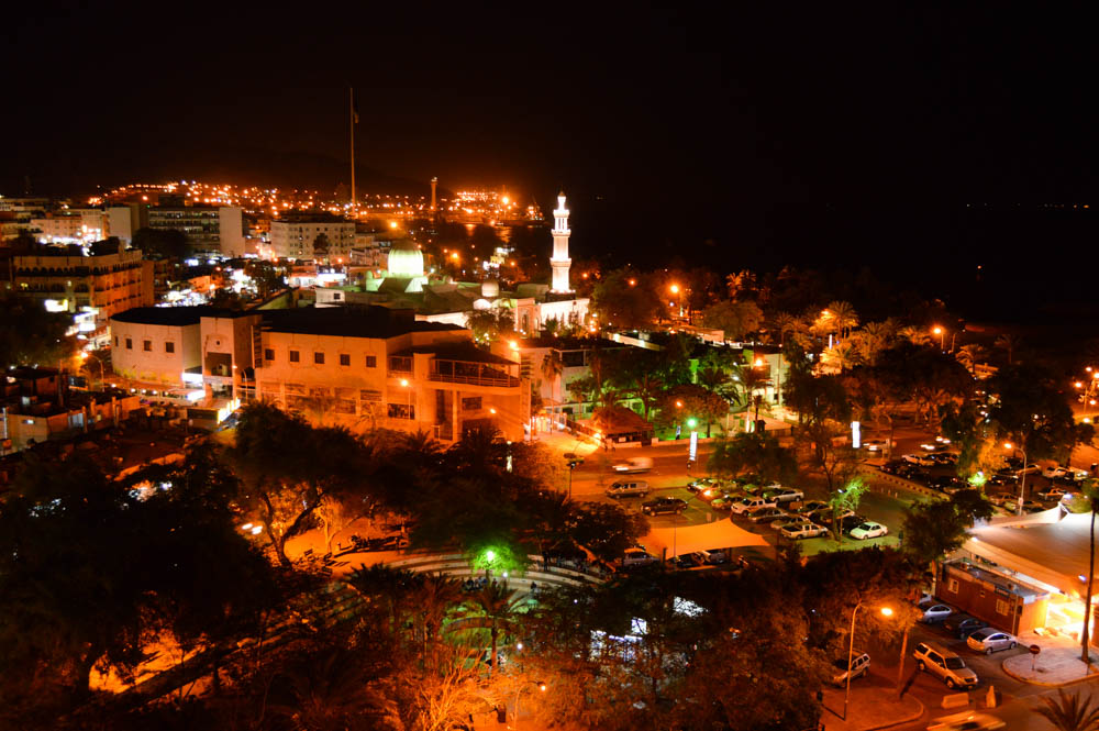 Aqaba by night