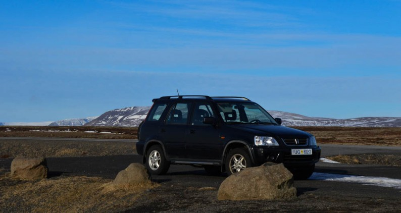 auto huren en autorijden in IJsland