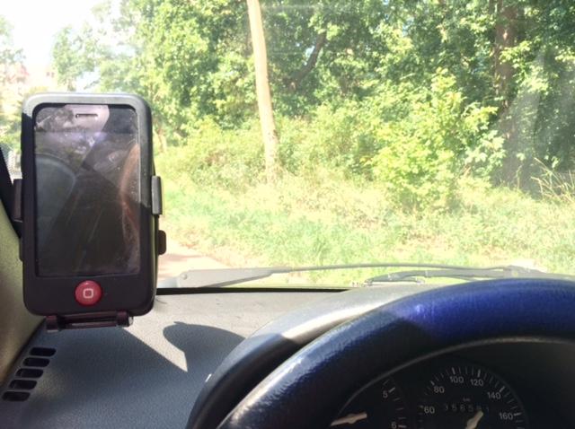 Autohouder voor op reis