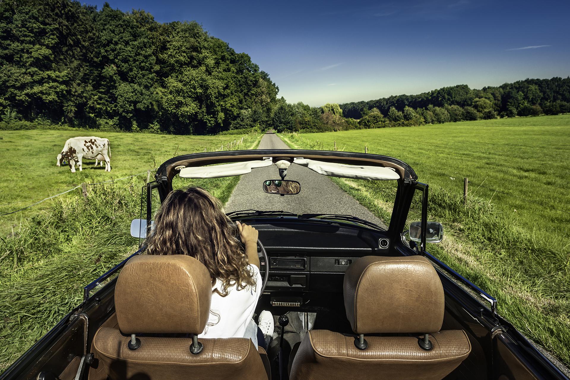 Cabrio routes in Nederland