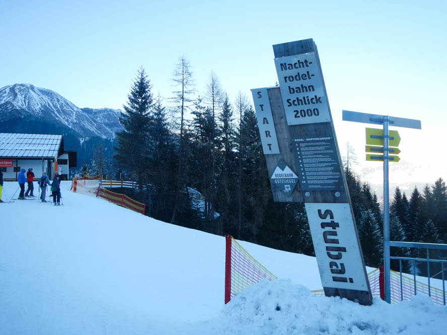 Skigebied Schlick 2000