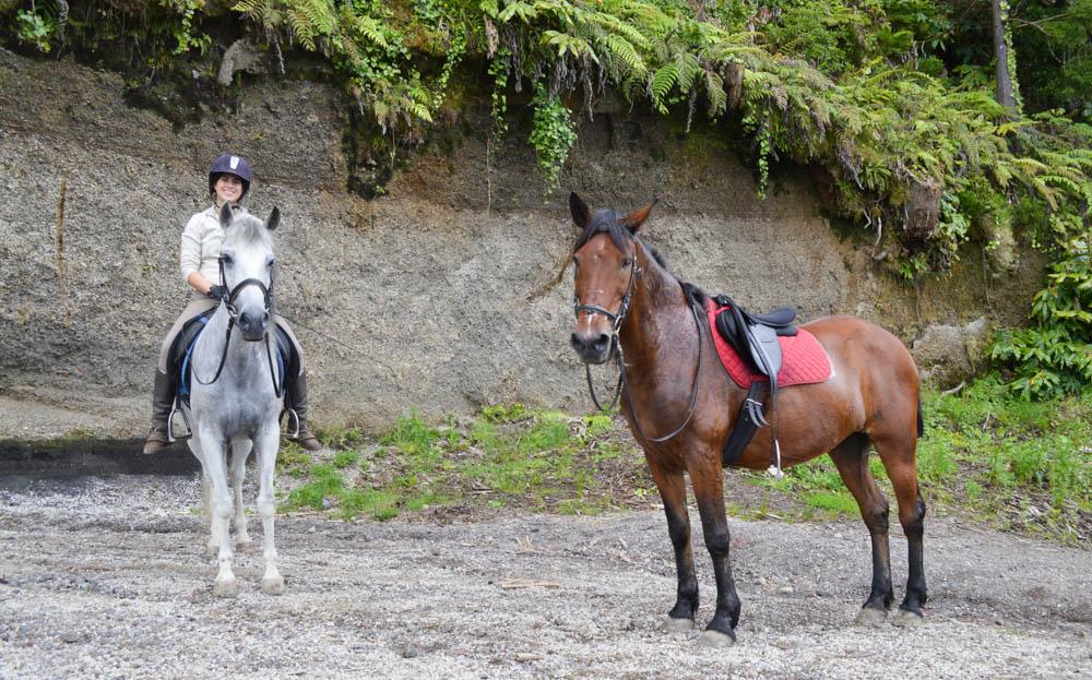 Paardrijden Sao Miguel