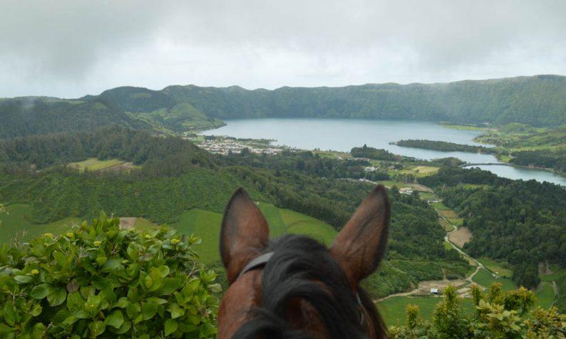 Paardrijden op de Azoren, Sete Cidades Sao Miguel