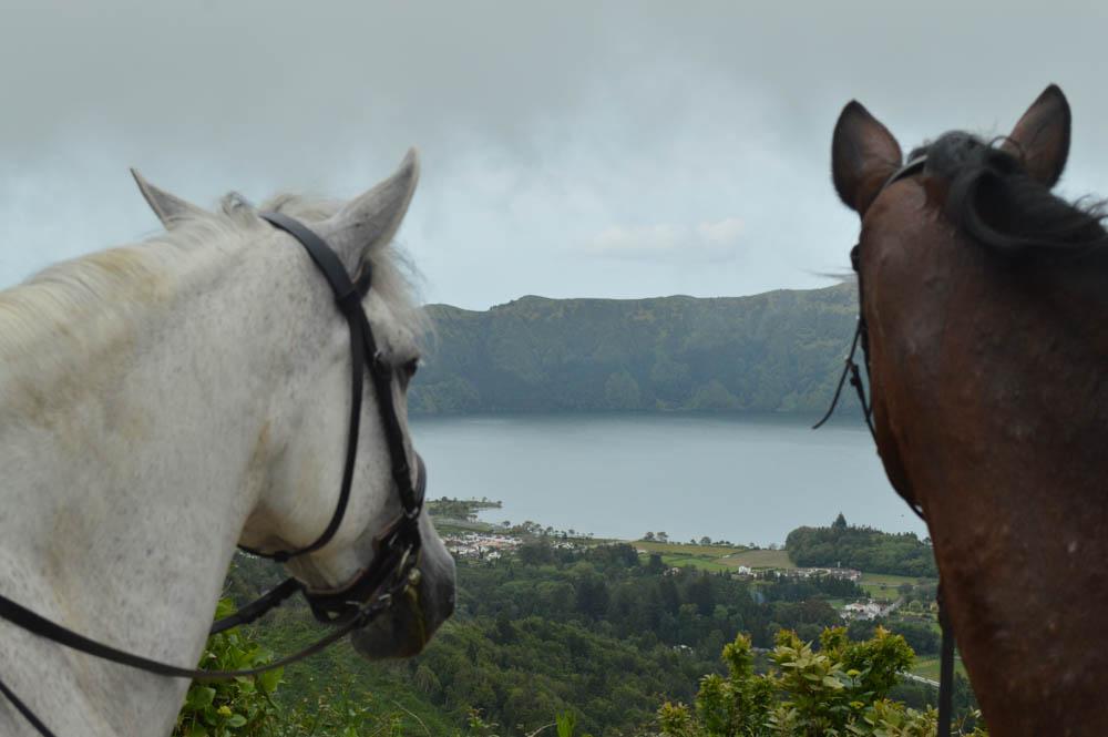 Dagtocht paardrijden nabij Sete Cidades