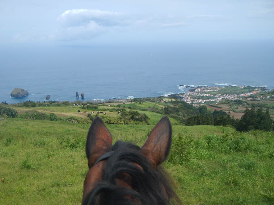 Paardrijden op de Azoren