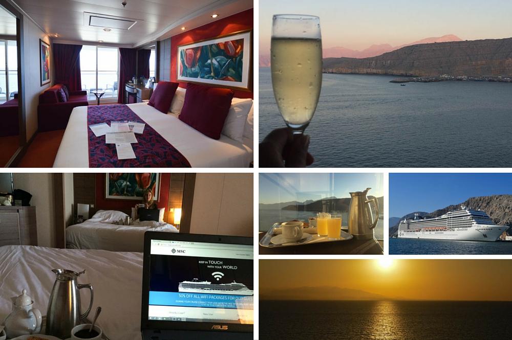 Balkonhut - MSC Cruise