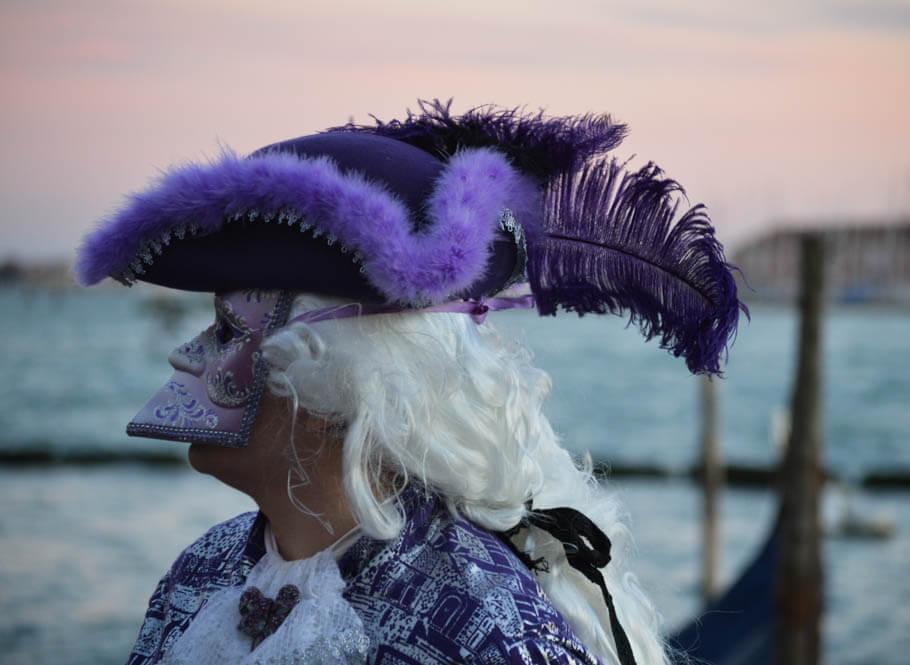 Venetiaans masker Bauta