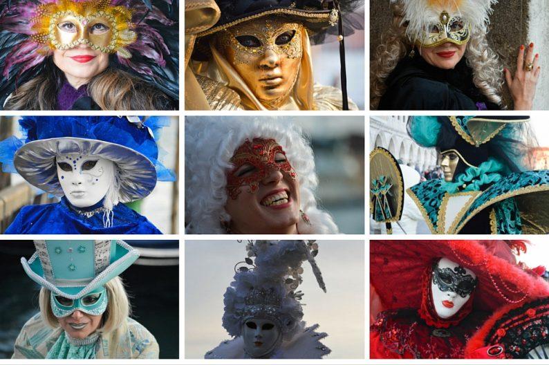 Betekenis Venetiaanse maskers