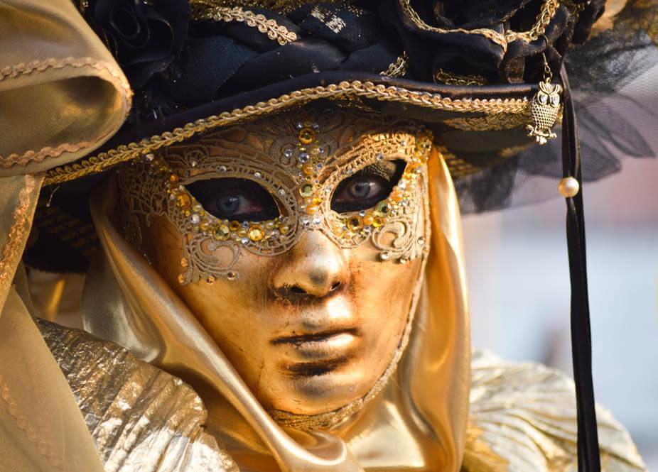 Betekenis van Venetiaanse maskers