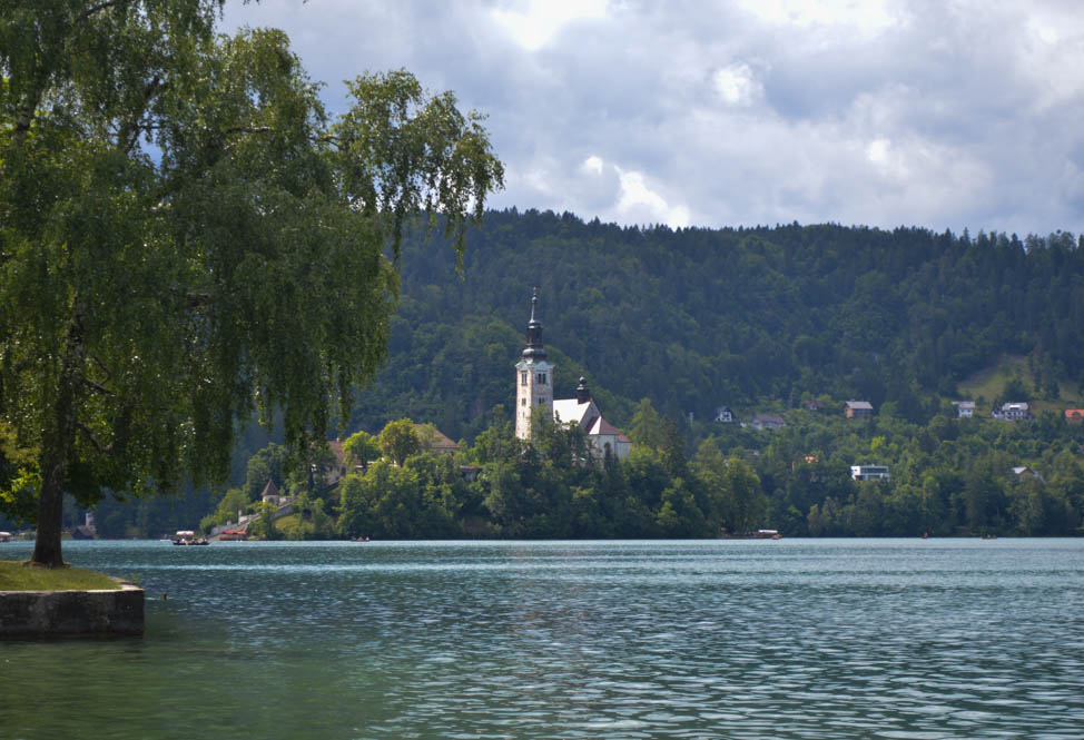 Eiland in Lake Bled