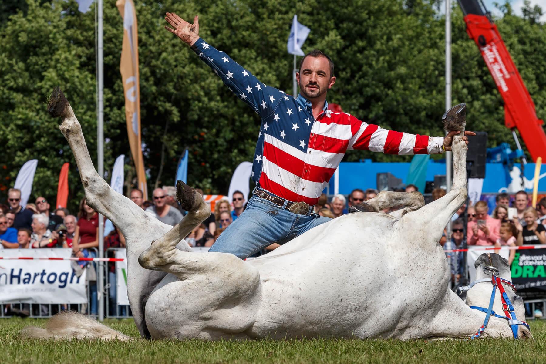 """Brabantse """"Cowboy"""" Josh Clemens"""