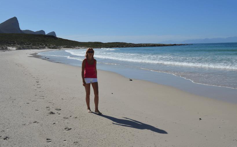 Buffels Bay, het verlaten strand