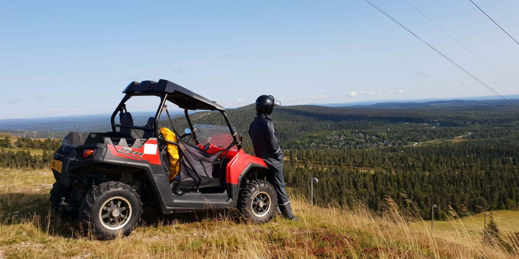 Buggy rijden in Finland