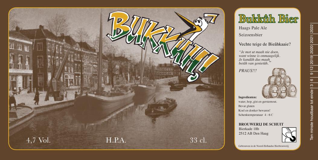 Nieuw Haags bier, Bukkûh bier