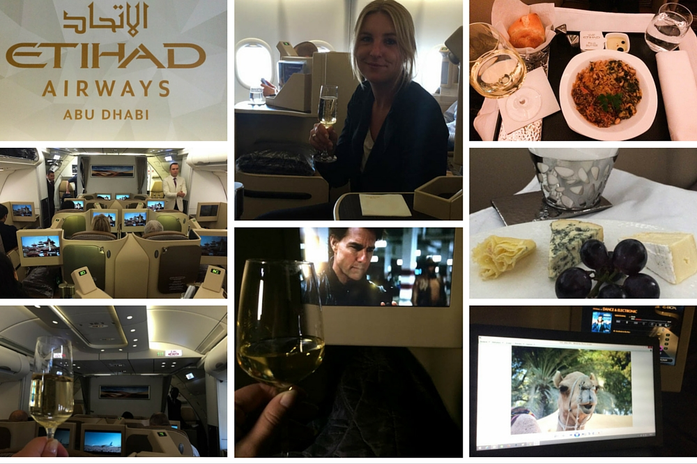 Reizen in Business Class met Etihad Airways