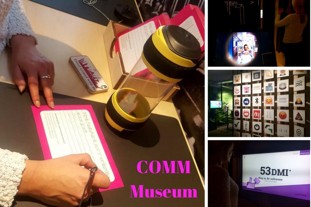 COMM naar het vernieuwde museum voor communicatie