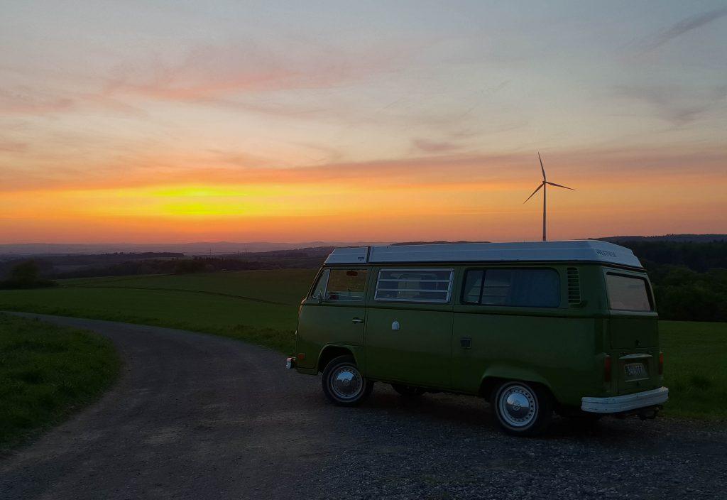 Camper roadtrip door Europa, budget en kosten