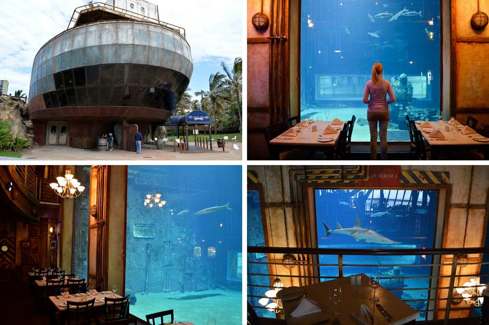 Cargo Hold restaurant - Durban