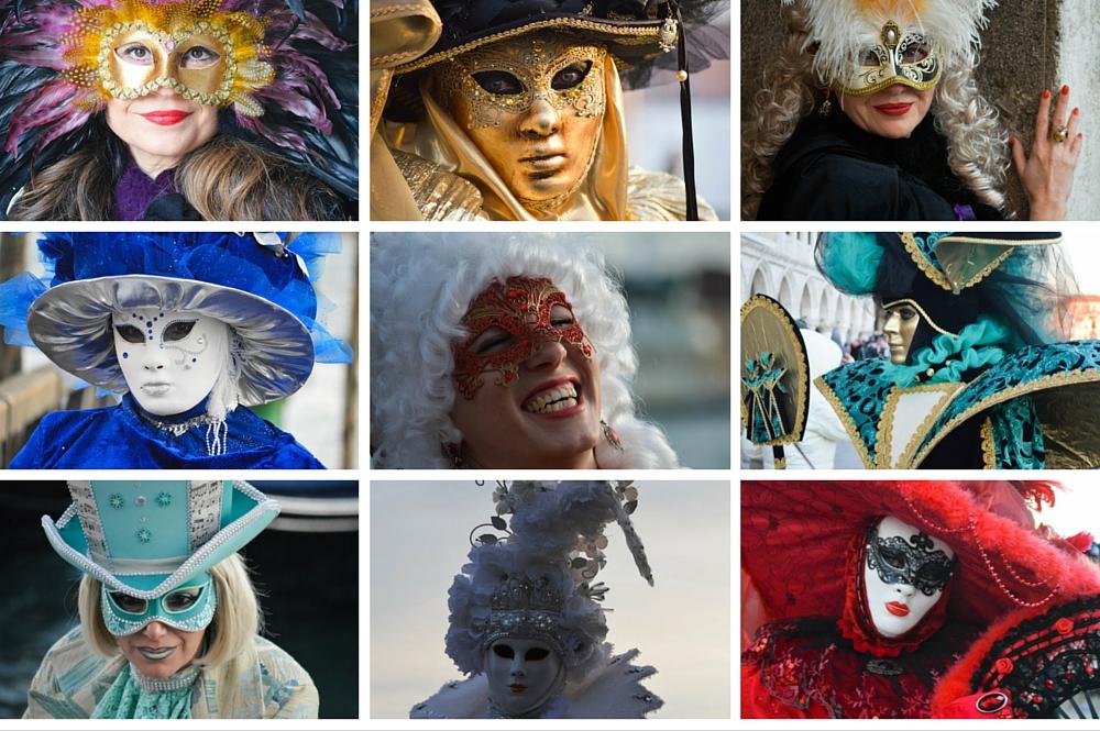 Carnaval vieren in Venetie