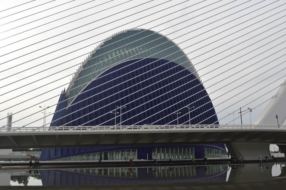 Ciudad de las Artes - Valencia - Spanje