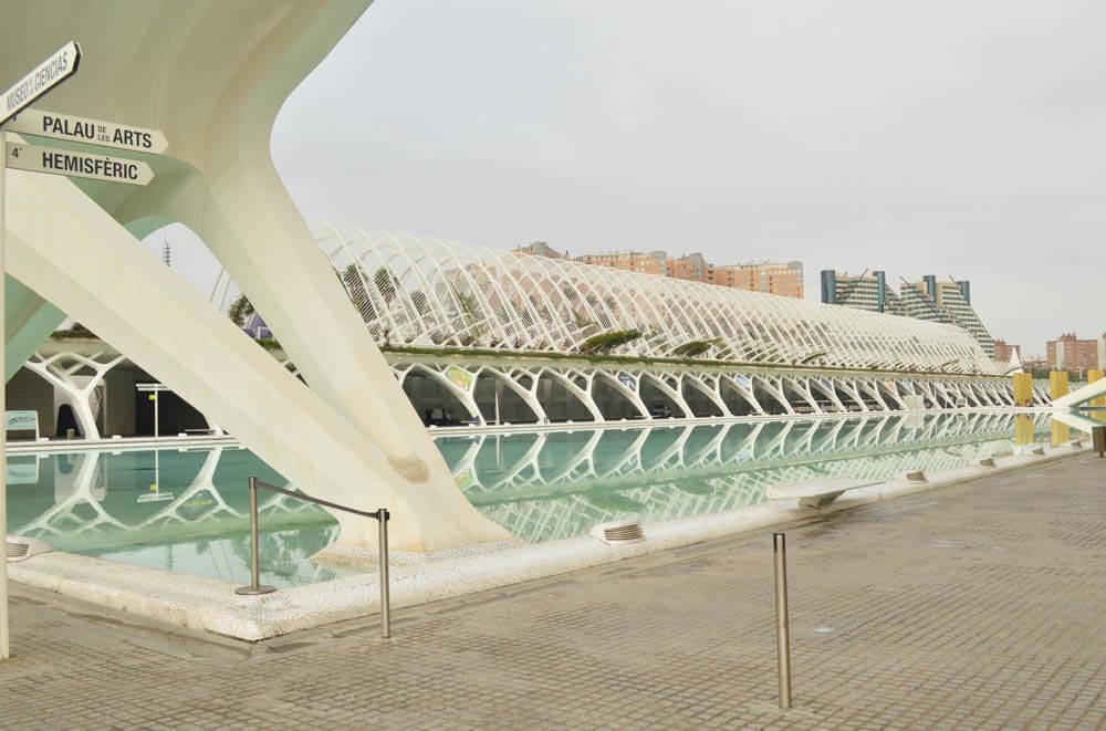 Stad van Kunst en Wetenschap - Valencia - Spanje