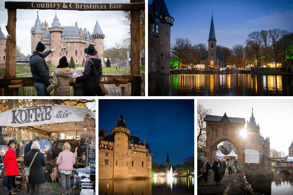 Kerstmarkten bij kastelen in Nederland