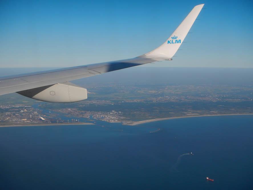 Fotoblog: Foto's vanuit het vliegtuig