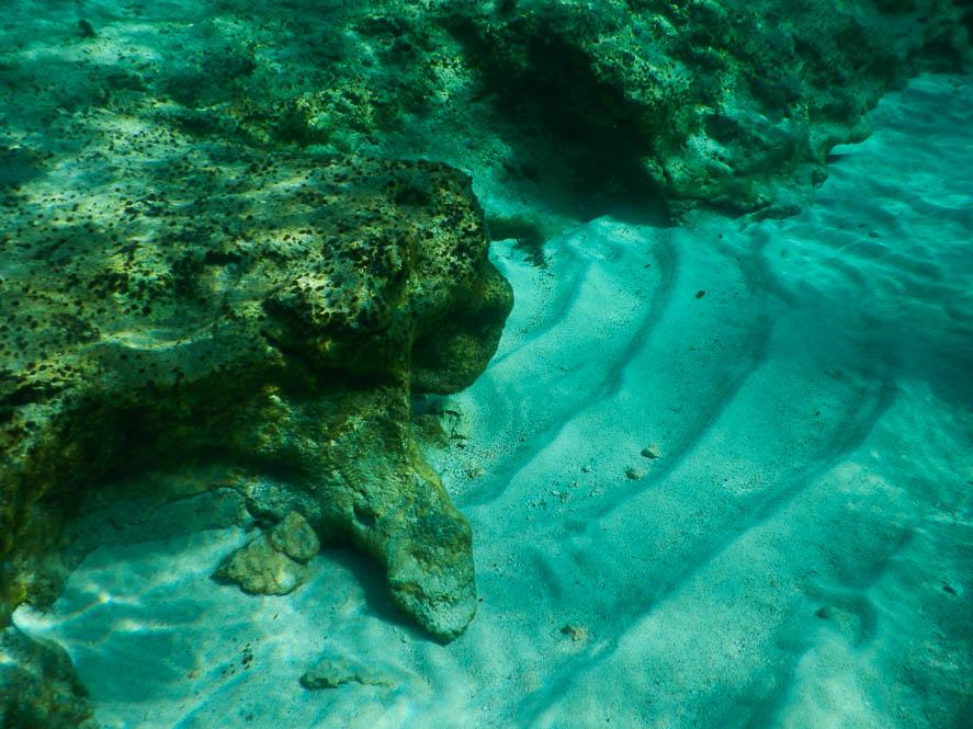 Onderwater in de Blue Lagoon