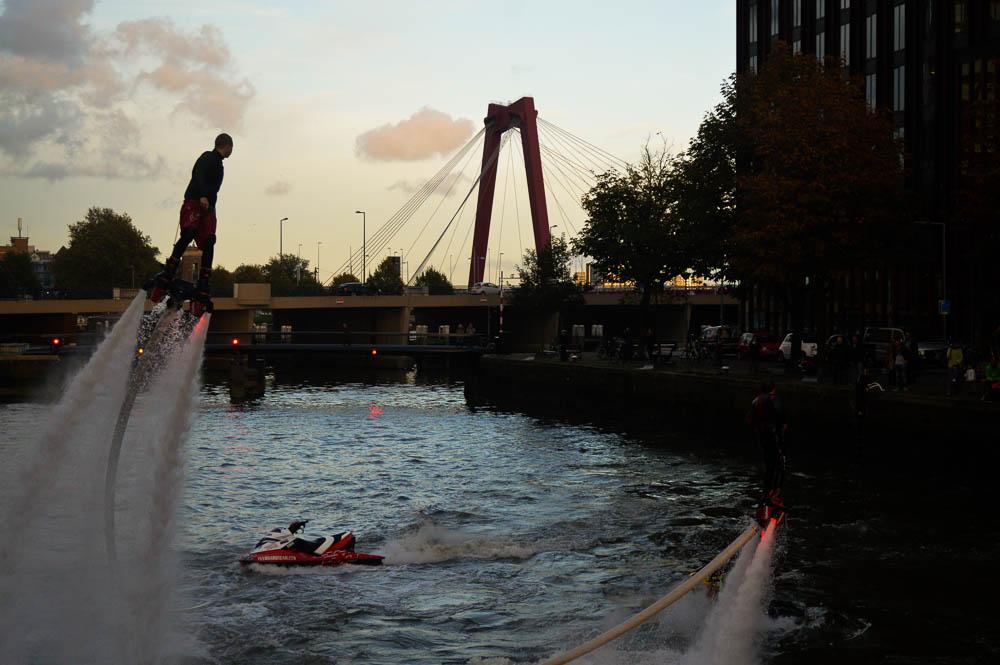 ibis Rotterdam opening door Flyboard team Nederland