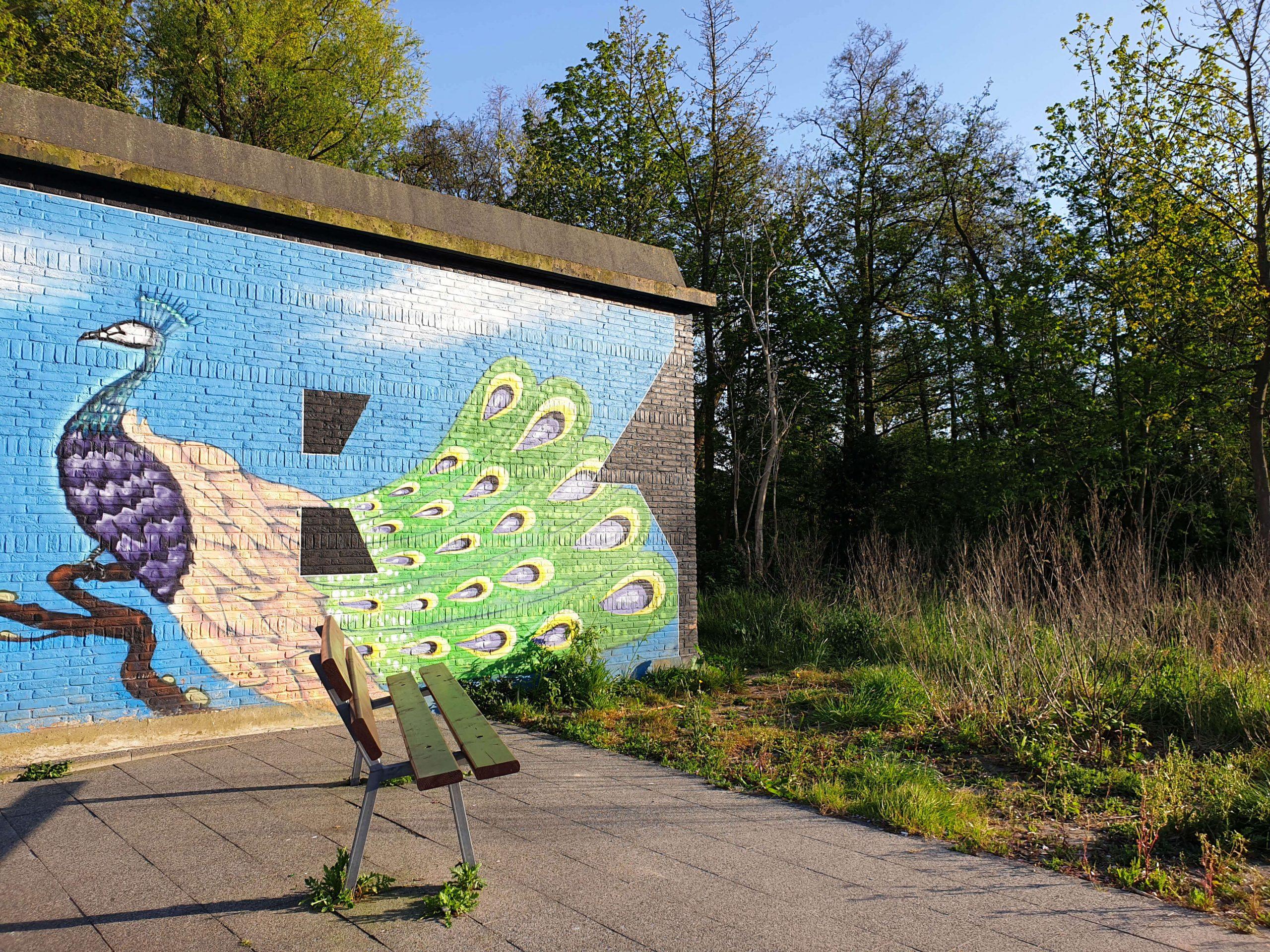 Street Art Daal en Bergselaan