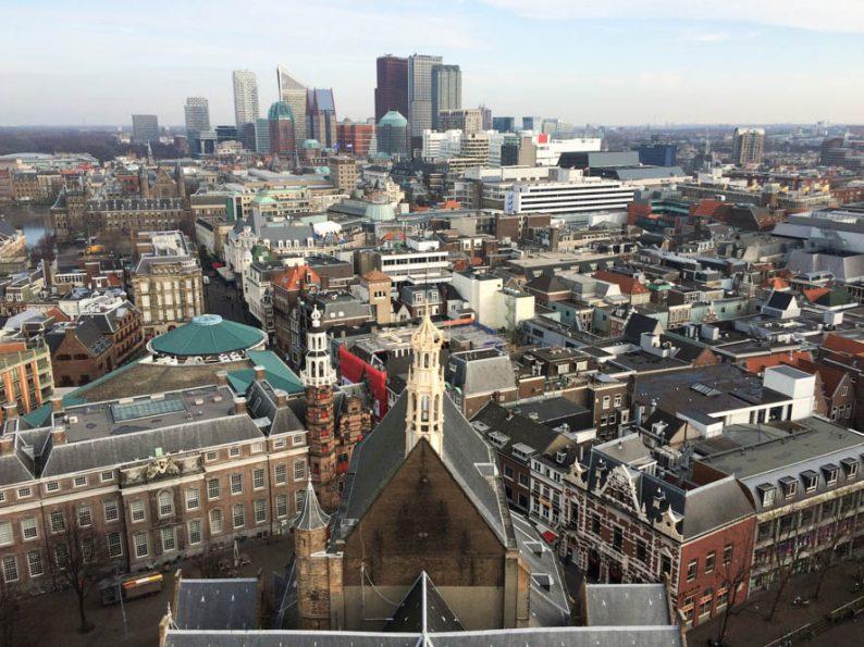 360° Uitkijkpunt vanaf toren Grote Kerk