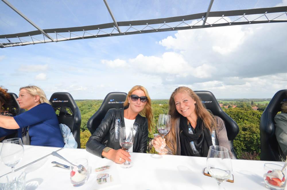 Unieke belevenis; Dinner in the Sky - Nederland
