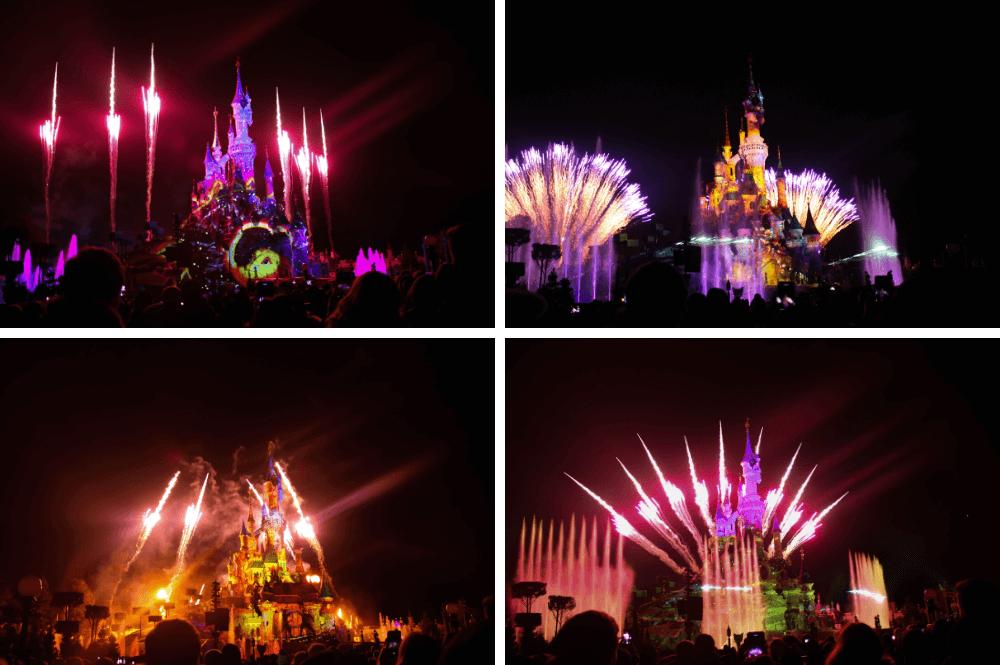 Vuurwerk Disney Illuminations